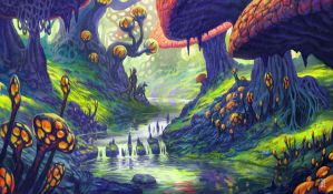 Black Marsh, Shroom Land by LyntonLevengood