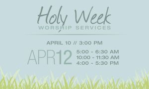 Holy Week by shanahben