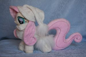My Little Pony - Fluttershy Dress Plush by Masha05