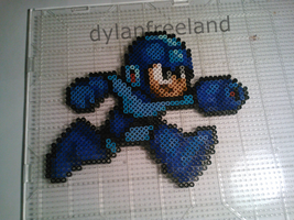 Mega Man Perler Sprite for the Game Grumps by dylrocks95