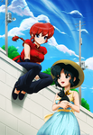Ranma - Summer Vacation by ghostfire