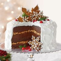 knuxes ginger and toffee xmas cake by knuxandamesaccount