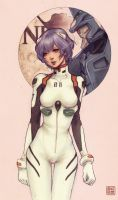 Rei Ayanami by JDarnell