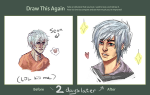 Draw this again: Two day progress by Calbury