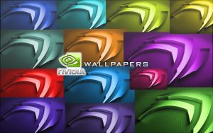 Nvidia Colorful Wallpapers HD by Macdead3