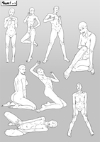 Poses pt2 by SabreWing