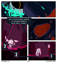 tinyraygun issue.01 - pg 3 by Jollv