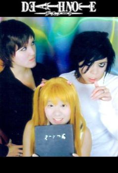Deathnote - Instant Cosplay by K-tetsu