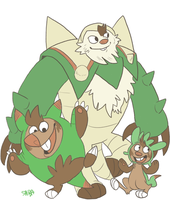 Chespin by ColaFizz
