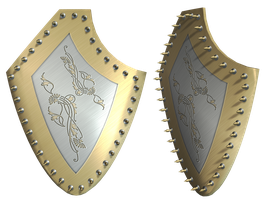Mythical Shield PNG Stock by Roys-Art