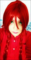 grell wig test ... ^^ by Watanabe222