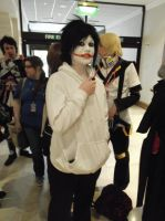 Unedited Jeff the Killer cosplay by Shadow-Industries