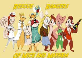 Rescue Rangers Team Picture by rozumek1993