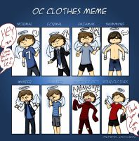 OC Clothes Meme by WhateverCat
