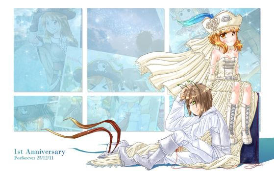 1st Anniversary PF by Porforever