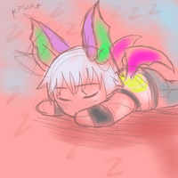 Sleepy RIkuu by Pon3Splash