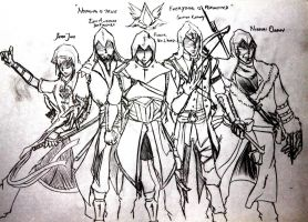 The World of Assassins by iPWNoobs
