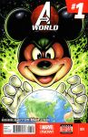 Mickey's World sketch cover by gb2k