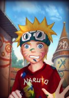 Naughty Naruto by burcuaycan