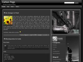 Carbon Page by Gigacore
