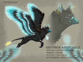 Lantern Gryphon Adoptable (CLOSED) by Yourtoast