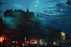 nighttime by lafaette