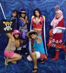 one piece grupal cosplay by ana02tenshi