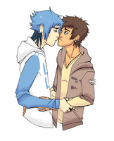RIGBY AND MORDECAI by Museinu