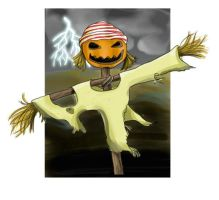 scarecrow with background by hyky