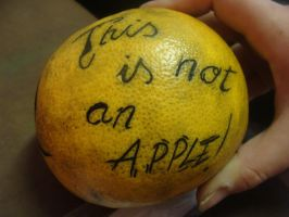 This is not an apple by Baitti