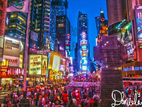 Times square NYC by daniela-ily