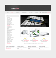 ecommerce web template by jackinnes