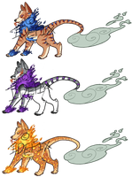 Fire Work Dogs Adopts by ldefix