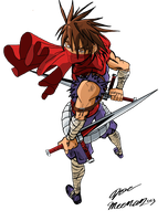 Strider Hiryu, Ready for Battle. by Sonicsamus