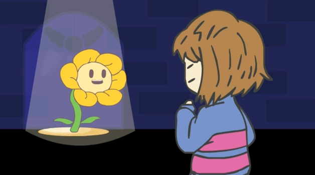 Frisk meets Flowery by wondermeow