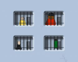 Another day in prison by MPAMPoULAs