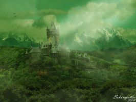 Green Castle by sakurapotter