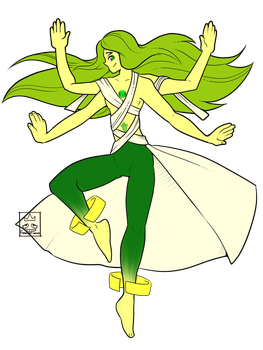 Su OC fusion:Titanite by Flamingo-sama