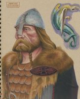 Sketchbook : Viking and Medieval Dragon by PaulPhillips