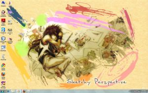 sketchy perspective by josephine12cute