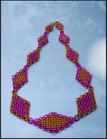 Grad Diamonds Chainmaille NL by FeMailleTurtle
