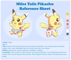 Miles Tails Pikachu Ref by pichu90
