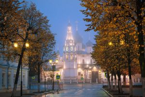 Autumn in Yaroslavl by dSavin