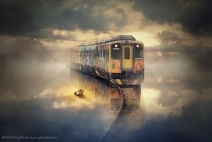 the train by evenliu