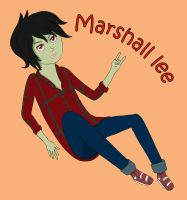 'sup Marshall Lee by gwen124