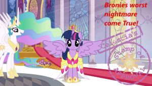 Wallpaper P. Twilight bronies worst nightmare by Barrfind