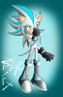 Request: Axle the Hedgehog by RouletteObsidian