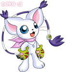 Gatomon Adventure by McSadat