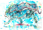 Suicune Fled by ElementalSpirits