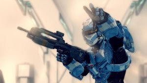 Halo 4 | Spartan lV Blue by Goyo-Noble-141